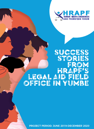 Success stories from the HRAPF's Legal Aid Field Office in Yumbe