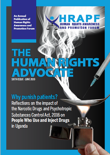Issue 6 of the Human Rights Advocate Magazine on NDPSCA