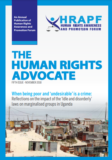 FIFTH ISSUE of the Human Rights Advocate