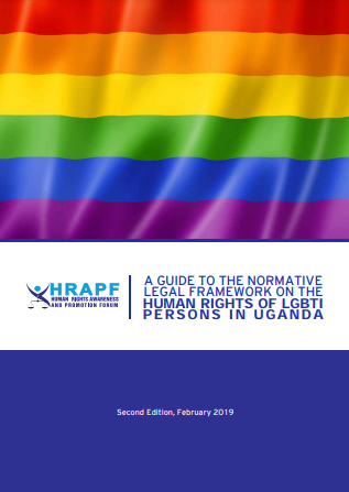 Legal framework on LGBT rights - The Rainbow Book Second Edition, 2019