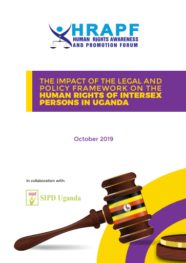 Impact of legal and policy framework on human rights of intersex persons in Uganda