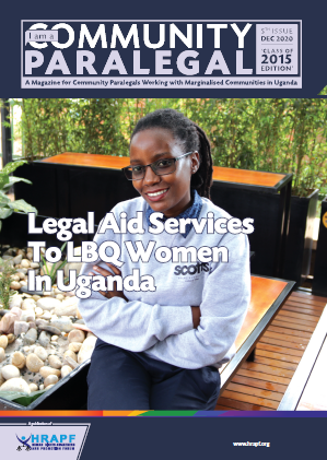 Fifth Edition of I AM A COMMUNITY PARALEGAL MAGAZINE