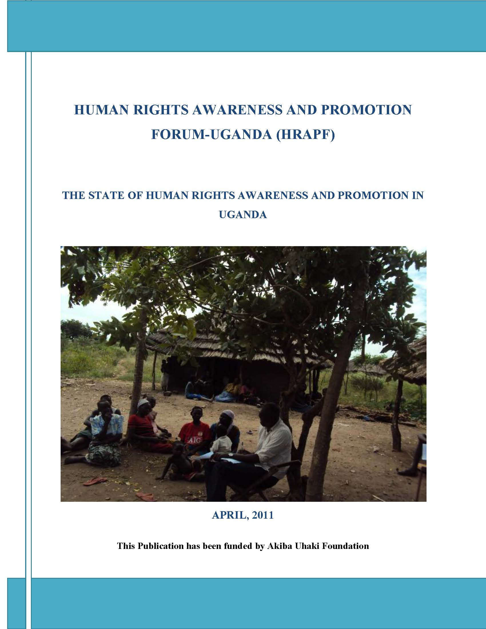 Human rights awareness and promotion in uganda